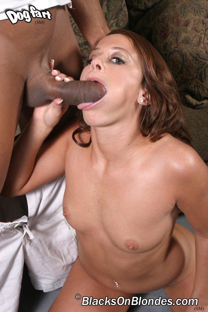 Savannah Stern получила свой первый большой черный член и чудесно с ним справляется